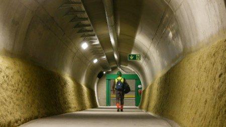 В Швейцарии завершили строительство самого длинного в мире тоннеля